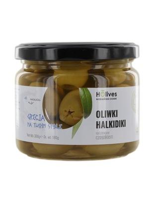 Оливки Халкидики фаршированные чесноком