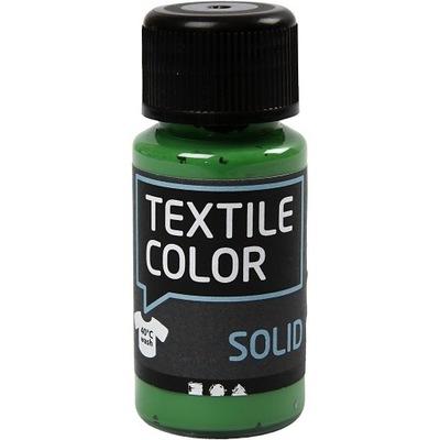 Farba do CIEMNYCH tkanin ubrań koszulek ZIELONA 50