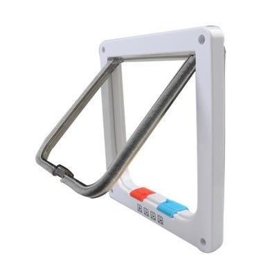 Drzwiczki KLAPA na drzwi dla Kota Psa do 6KG S