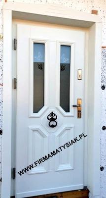 двери Внешние деревянные колокольчик белое