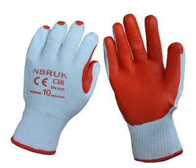 перчатки перчатки рабочие BRUKARSKIE ТРОТУАР разм. 10