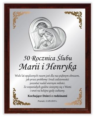 PREZENT ROCZNICA ŚLUBU JUBILEUSZ 25 40 45 50 55 XL