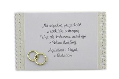 Naklejki Etykiety Ciasto Kolacz Slub Podziekowania 7425815383 Oficjalne Archiwum Allegro