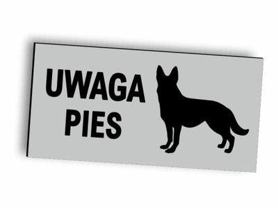 Табличка Доска ПРИМЕЧАНИЕ Собака алюминиевая