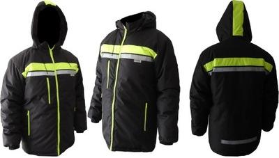 куртка рабочая светоотражающая утепленная водонепроницаемый L