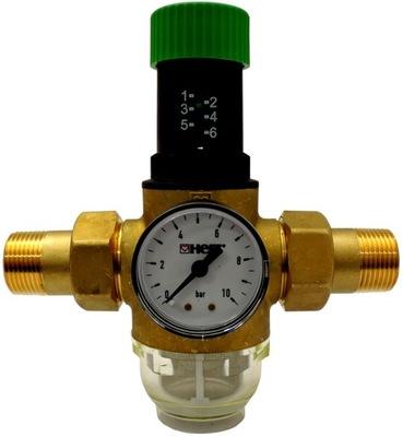 """Tlakový redukčný ventil 1/2"""" Filter HERZ"""