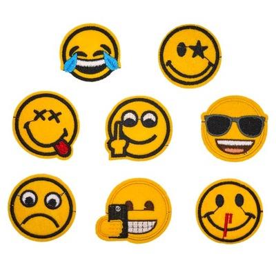 СМАЙЛИКИ Перебивки термо Emoji смайлики комплект 8 штук