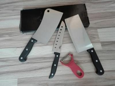 Nowy zestaw noży kucharskich prezent bcm..