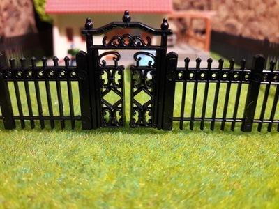 Забор забор макет очередь H0 1 :87 Eaglemoss