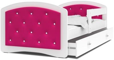кровать мягкая кровать ящик 160x80 MEGI