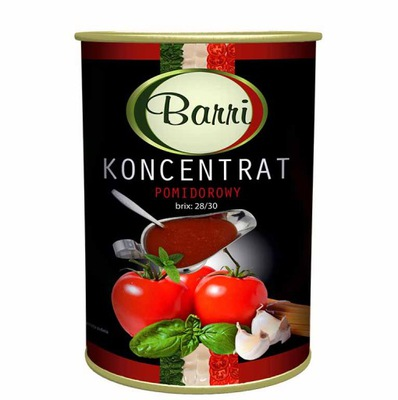 Koncentrat pomidorowy 4500g Barri