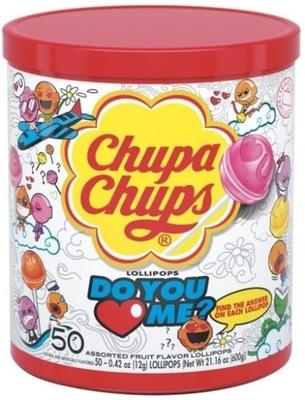 Chupa Chups Леденцы Love кол-во в упак. 50 штук