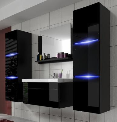 Мебель для Ванной комнаты шкаф комплект с Умывальником 60 LUMIA