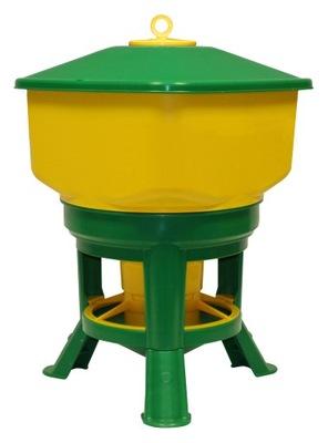 Лоток автоматическое 30л для домашней птицы кур Novital