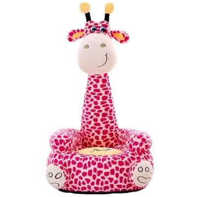 Plyšové Pohovka Kreslo Kreslo Maskot Žirafa dladzieci