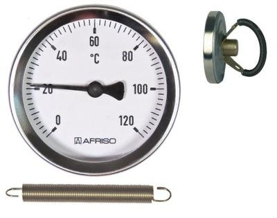 ZATVORENÝ TEPLOMER 0-120 ° C ŠTÍT FI63mm AFRISO