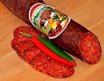 Салями с mangalicy венгерской соленые 100г