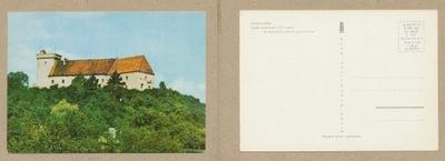 ОТКРЫТКА - ОТМУХУВ замок ПЯСТОВСКИЙ 1972 года.