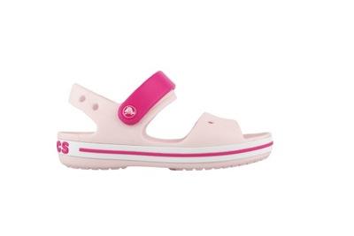 crocs crocband sandal kids niebiesko białe allegro