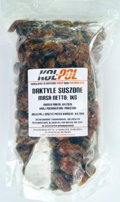 Финики сушеные без косточек 1кг 1000g Натуральный продукт!
