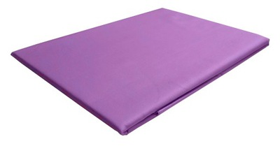 Posteľ list 240x260 saténová bavlna fialová