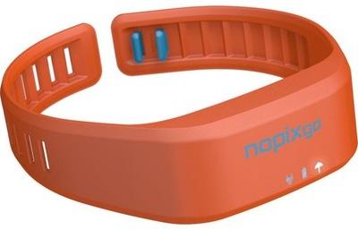 Náramok proti komárom Nopixgo NPG433 orange