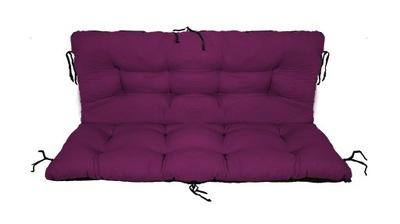 подушка на скамейку садовую качели 120x60x50 двуустки