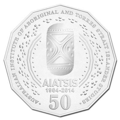 АВСТРАЛИЯ 50 центов 2014 Аборигены AIATSIS
