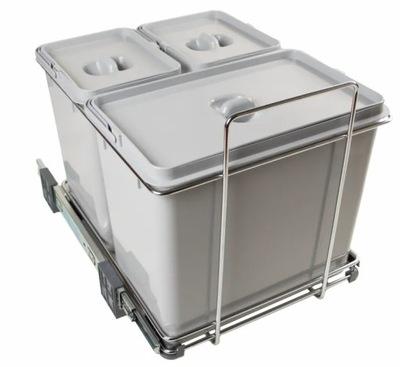 Сортировщик на мусор ECOFIL PF02B 3 ведра +