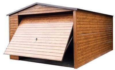 Гаражи из листового металла, Навес гараж Железный 5x6 жесть