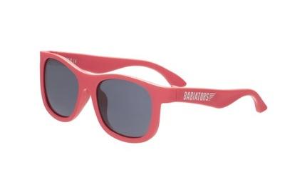 Slnečné okuliare pre deti BABIATORS NAVIG Rockin' Red 3-5