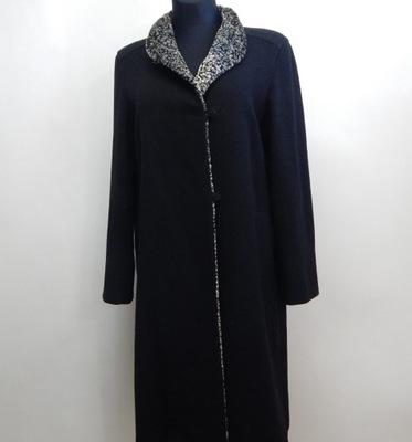 Płaszcz męski wełniany Varteks r42 80% virgin wool