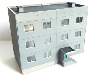 H0 - Здание instagram блок квартира с дисков ПНР