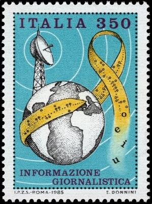 Италия 1985 Марку Мне 1905 ** пресса Связь
