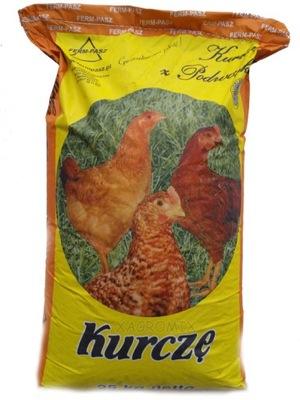 Корм для цыплят от 5 недели корм крупа 25кг
