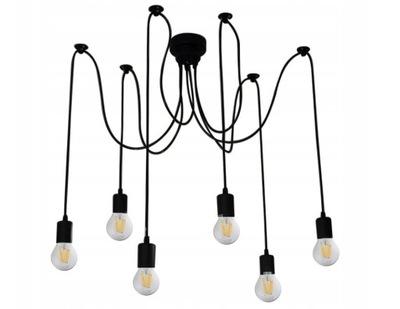 PRÍVESOK svetlo, RETRO A PODKROVIE E27 LED SPIDER