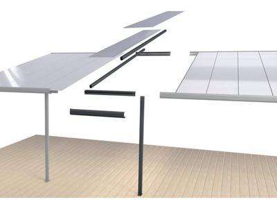 Predĺženie modul kabíny terasa 1,2 x 4,06 m