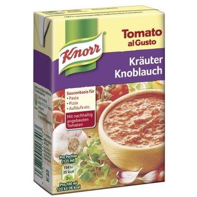 Gotowy Sos Do Pizzy Knorr 370 g z Niemiec