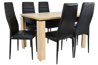 комплект ??? столовой 6 стульев +стол ?????????? 160см