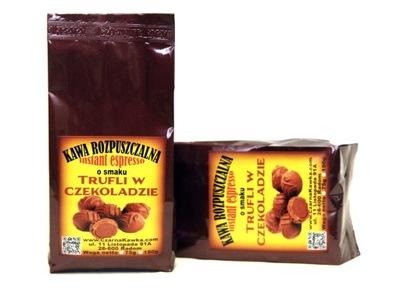 кофе растворимая ?? вкусом Трюфели в шоколаде