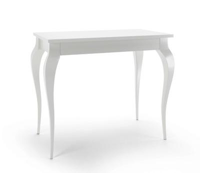 Письменный стол, Туалетный столик Консоль белая BEAUTY гламур