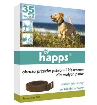 Happs воротник против pchłom и клещей маленький Собака