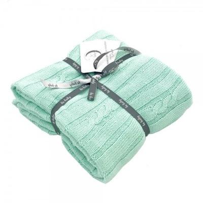 Одеяло baby мятный тканые 100 % ХЛОПОК ??? ребенка