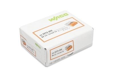 WAGO rýchly konektor PRE kábel 3x2,5 2273-203 100 Ks