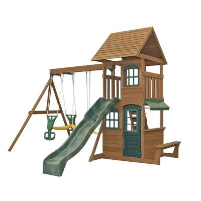 Cedrowy деревянный Площадь игры Windale KidKraft