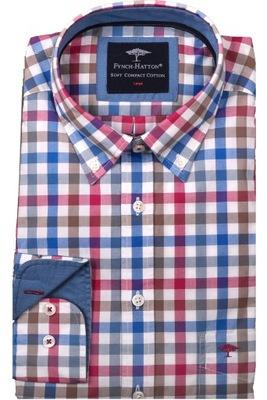 Koszula męska FYNCH HATTON krateczka XXL 7903965156  Q4mcf