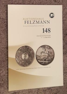 Каталог аукциона № 148 компании Felzmann
