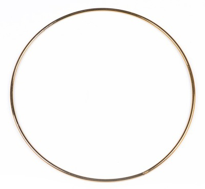 ЗОЛОТОЙ металлический обруч кольцо для ловец снов 40 см