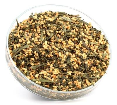 чай зеленый JAPAN GENMAICHA ЖАРЕНЫЙ РИС 50г