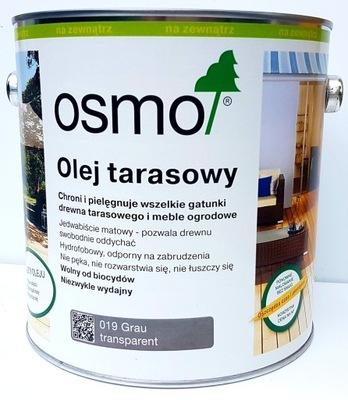 OSMO 019 Olej Dif 0.75 l Sivá